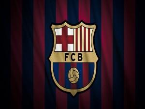 Postal: FC Barcelona escudo