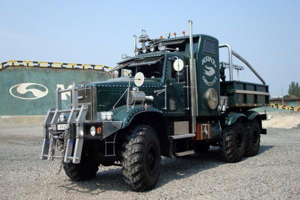 Camión Kraz ruso