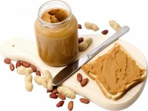 Sándwich de mantequilla de cacahuete