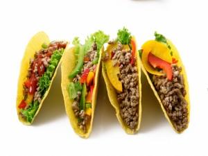 Postal: Tacos con carne picada
