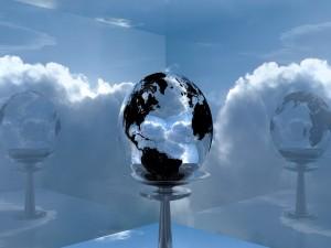 Postal: La Tierra de cristal