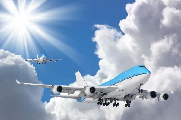 Aviones en el aire