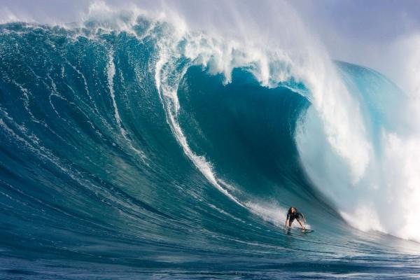 Surf en la gran ola