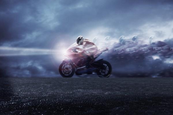 Velocidad sobre dos ruedas
