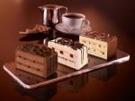 Pasteles y café para merendar