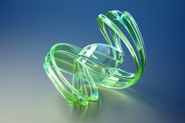 Líneas unidas formando una espiral