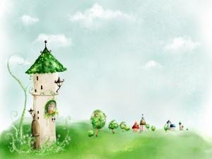 Postal: Torre con encanto