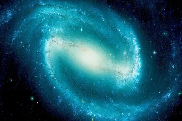 Galaxia con forma espiral
