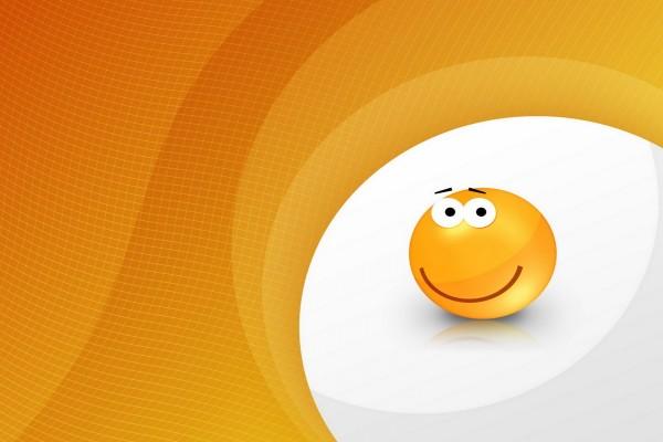 Smiley contento