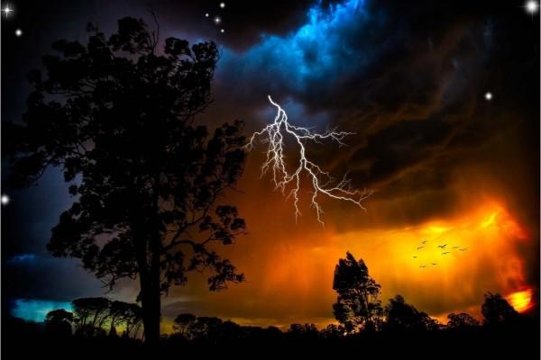 Varios cielos en el mismo territorio