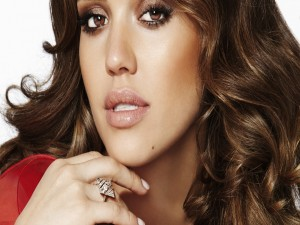 Postal: La hermosa actriz, Jessica Alba