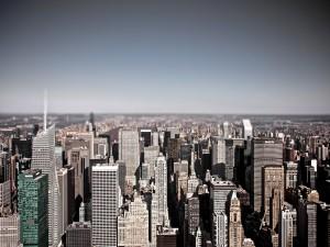 Postal: Edificios de Nueva York