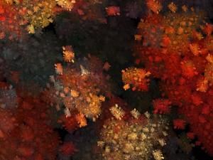 Postal: Colores de otoño