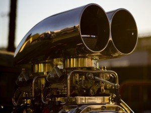 El motor de un coche