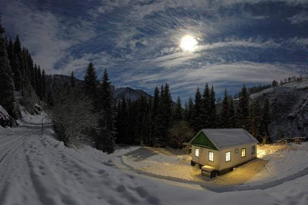 Fría noche de luna llena
