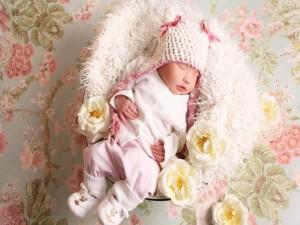 Hermoso bebé durmiendo