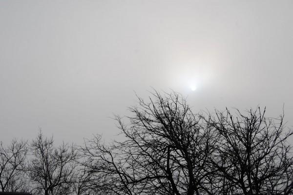 El sol entre las nubes