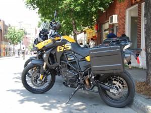 Postal: Moto BMW F800