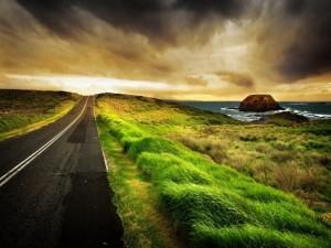 Camino al oeste
