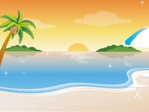 Postal: Día de verano