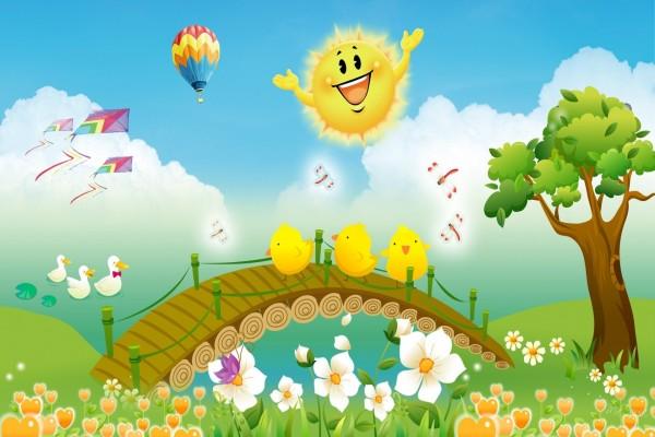 Un bonito día de primavera