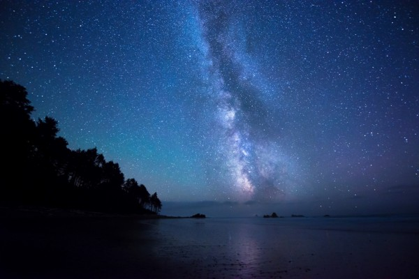 Precioso cielo estrellado