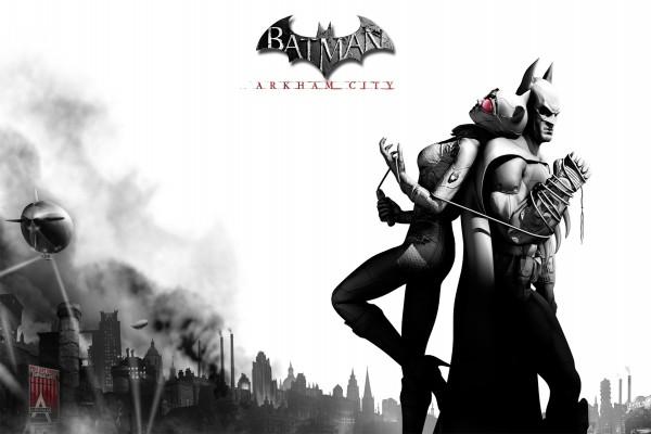 "Batman y Catwoman ""Batman: Arkham City"""