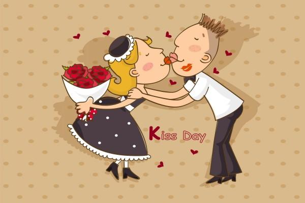Día del Beso, 13 de Abril