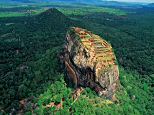 Postal: Roca de Sigiriya (Sri Lanka)