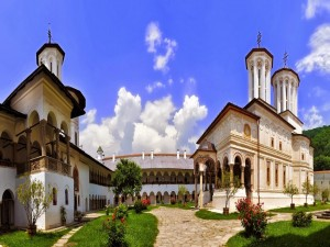 Monasterio Horezu, en Wallachia (Rumania)