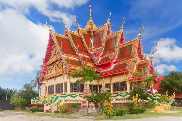 Templo en Koh Samui, Tailandia