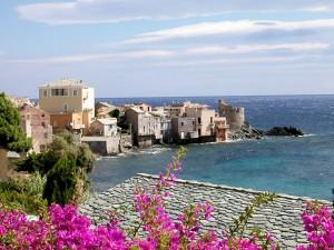 Paisaje en Corsica (Francia)