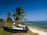 Playa tropical, en la isla caribeña de San Andrés (Colombia)