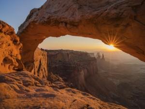 El sol y el arco