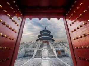 Postal: El Templo del Cielo (China)