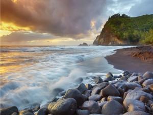 Postal: Bonita vista desde la playa