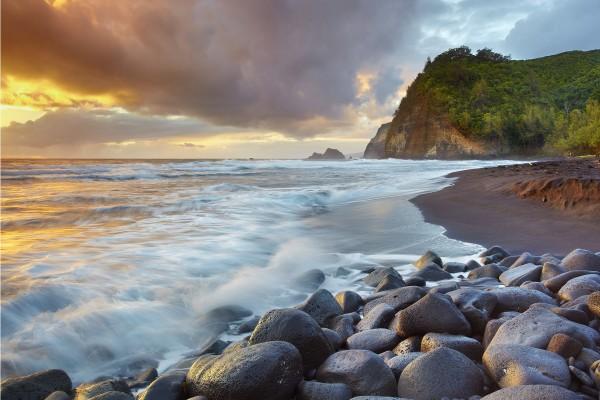 Bonita vista desde la playa