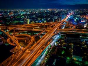 Postal: Carretera en Japón