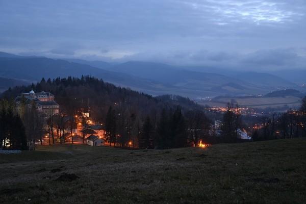 Jeseníky por la noche ( República Checa)
