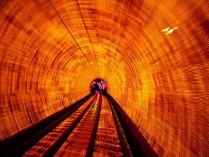 Postal: El túnel