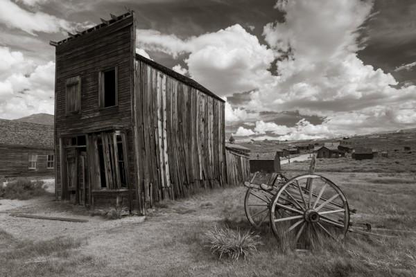 Viejo pueblo abandonado