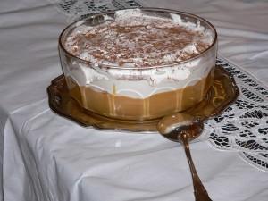 Suspiro de limeña (cocina peruana)