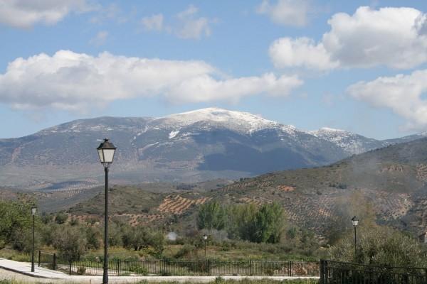 El Pico Almadén, en Sierra Mágina