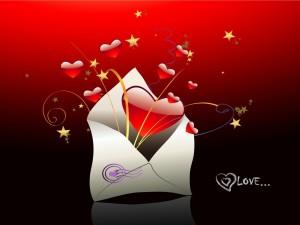 Postal: Carta romántica para conquistar
