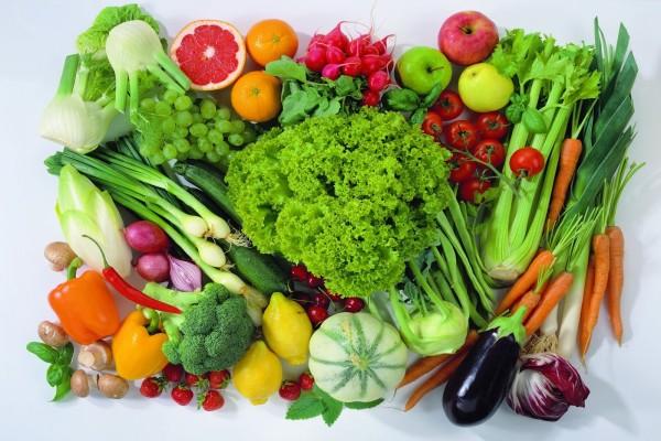 Verdes y saludables vegetales, para una buena comida