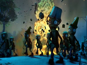 Zombies del videojuego: Plants vs Zombies Garden Warfare