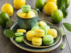 Postal: Macarons de distintos sabores