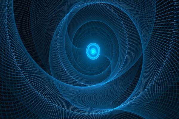 Espirales azules