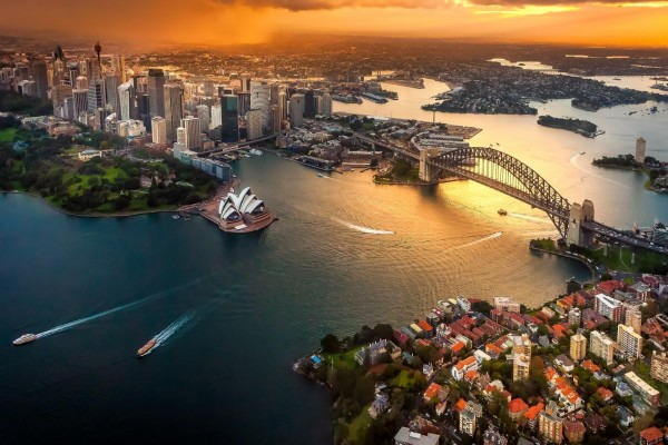 Sydney al atardecer