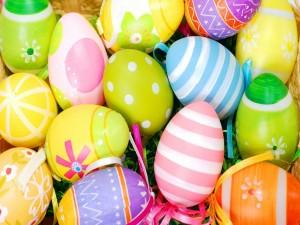 Lindos huevos de Pascua